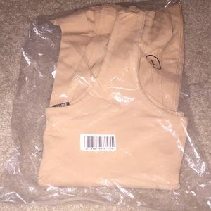 Forever 21 nude jumpsuit new